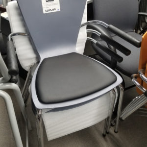 Stacking Chairs with Arms - $205