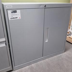 Two Door Metal Cabinet - $99