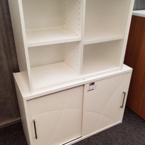 White Storage Cabinets - $100 - $195