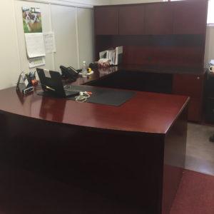 Wood Veneer Office Suite - $1,695