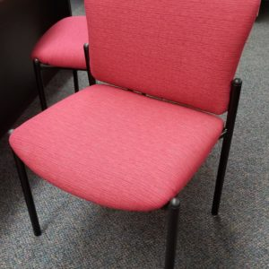 Guest Chairs with Fabric Seat and Back - $135 each